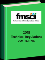 2018 FMSCI 2W Technical Regulations Racing