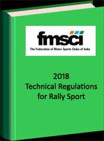 Technical Regulations Stage Rally Sport