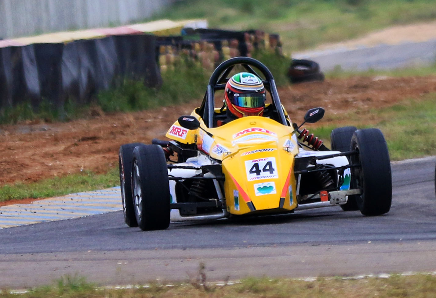 Nabil Hussain, quickest in Formula LGB 1300 category (June 22).JPG